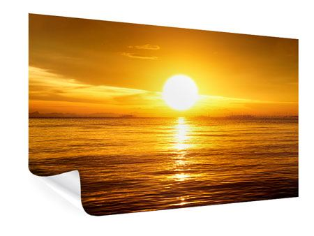 Poster Traumhafter Sonnenuntergang